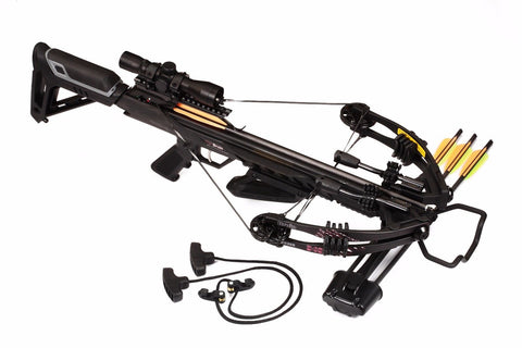 Bruin Ambush 345 Crossbow Package - Black