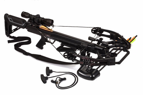 Bruin Ambush 410+ Crossbow Package - Black