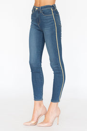 Margot High Rise Skinny Neptune