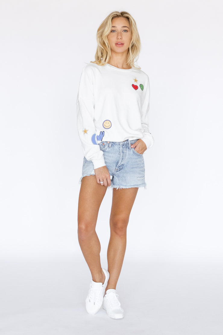 Veronica Drop Shoulder Pullover