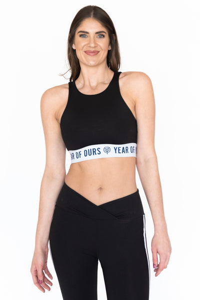 Open Back Sport Bra