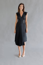 Coralie Dress Nero