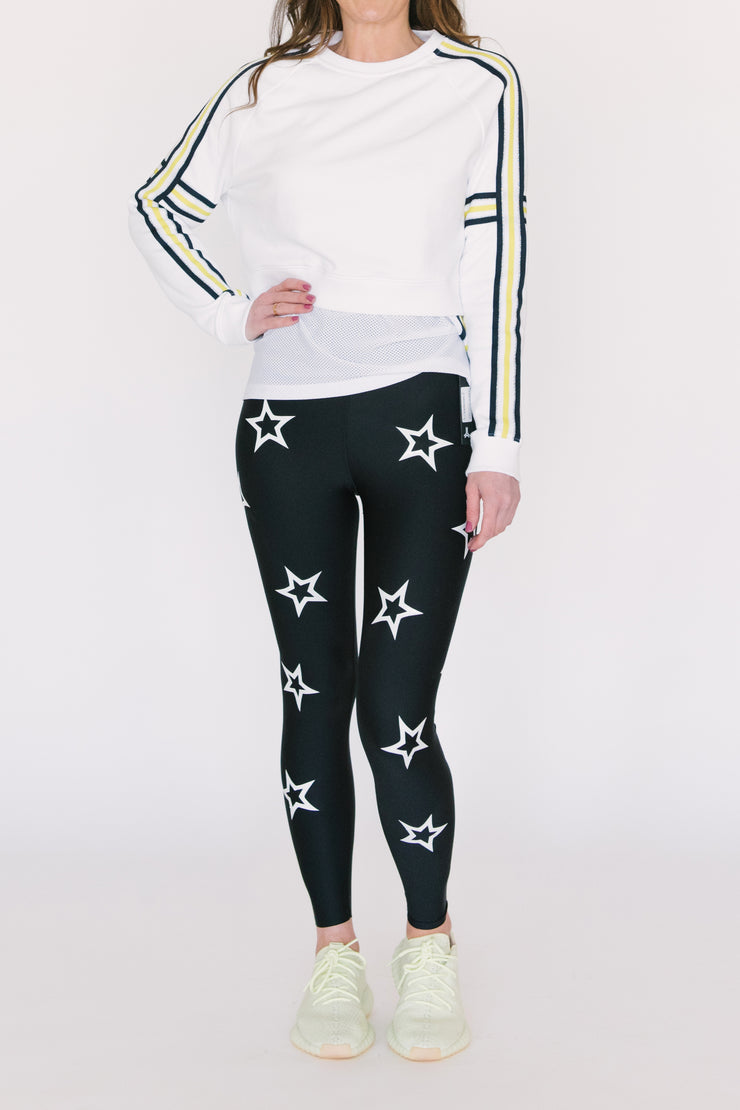Ultra High Knockout White Legging
