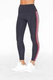 Ivan Legging Navy & Chili