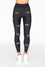 Ultra High Bonded Panthera Legging Nero Graphite