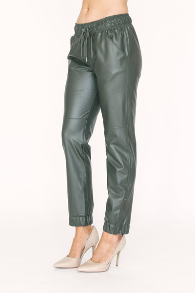 Ankle Zip Jogger Hunter