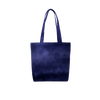 Cute tote bag in Indigo navy blue with double shoulder strap.