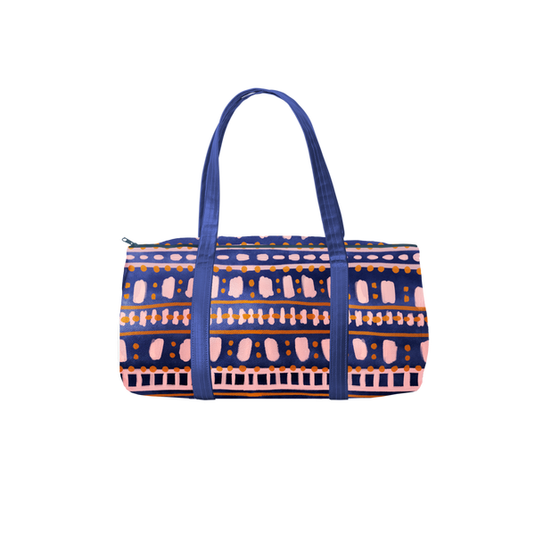 Darling Duffel with boho dress