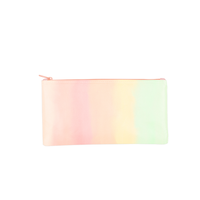 Daybreak All the Things Pouch is a cute pencil pouch in a pastel gradient print.