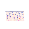 Zippered ripstop nylon pouch with cute pastel floral print. -- Magic Sprigs