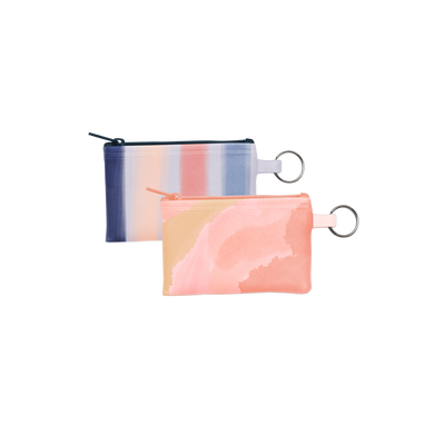 Penny Key Ring is a coin purse key ring in Daydream and Free Spirit patterns.
