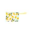 Poptart-To-Go Lemons is a small pouch wristlet in yellow with lemons pattern.