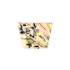 Lush Tweedle Dee is a cute cosmetics bag in an abstract tropical florals pattern.