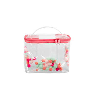 Soulmate Pom Poms - Large Toiletries Bag