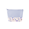 a cute periwinkle pouch with magic sprigs print
