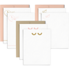 Doodles Set is a cute stationery set of three different card designs in two colorways.