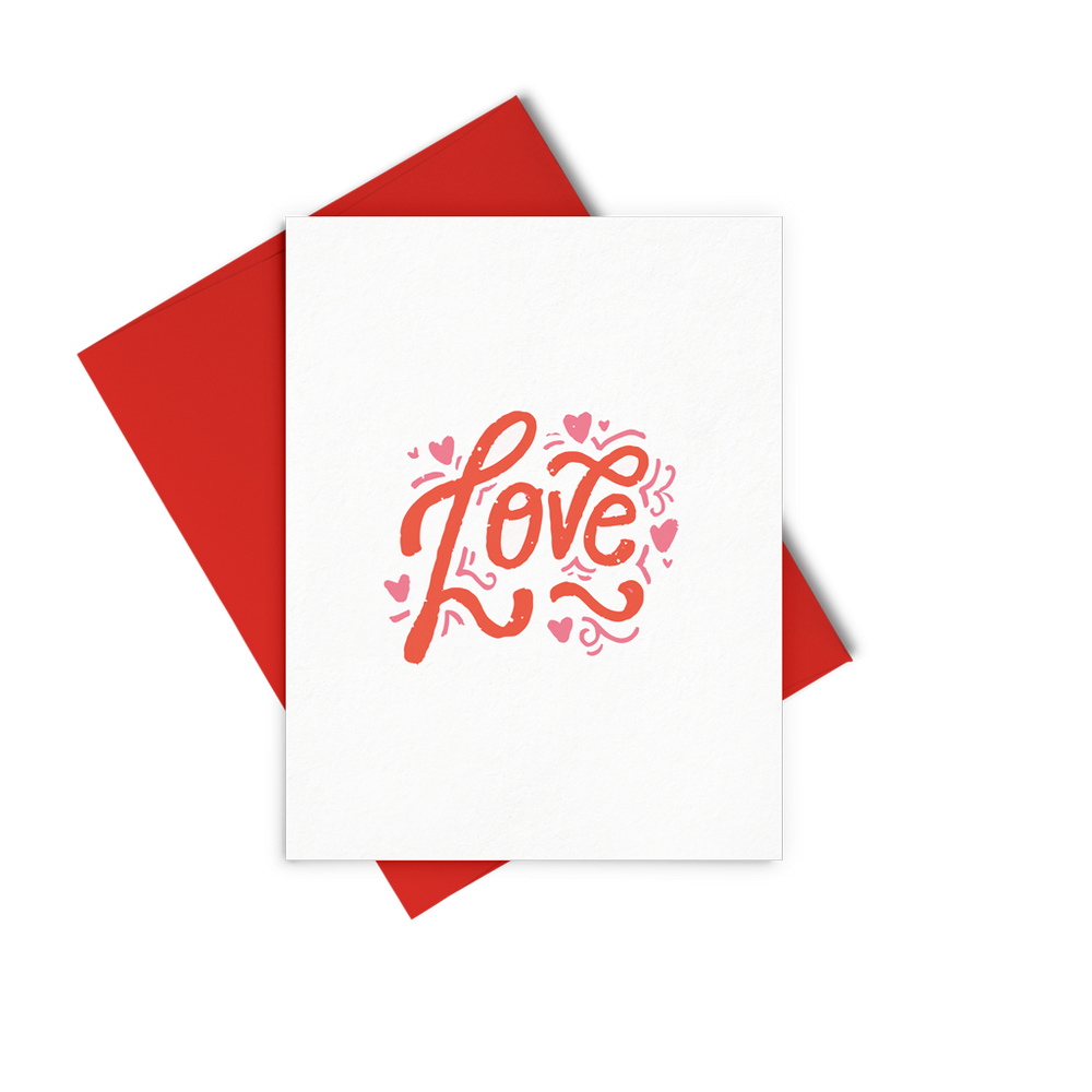 Love Lettering - Talking Out Of Turn - [product_description]