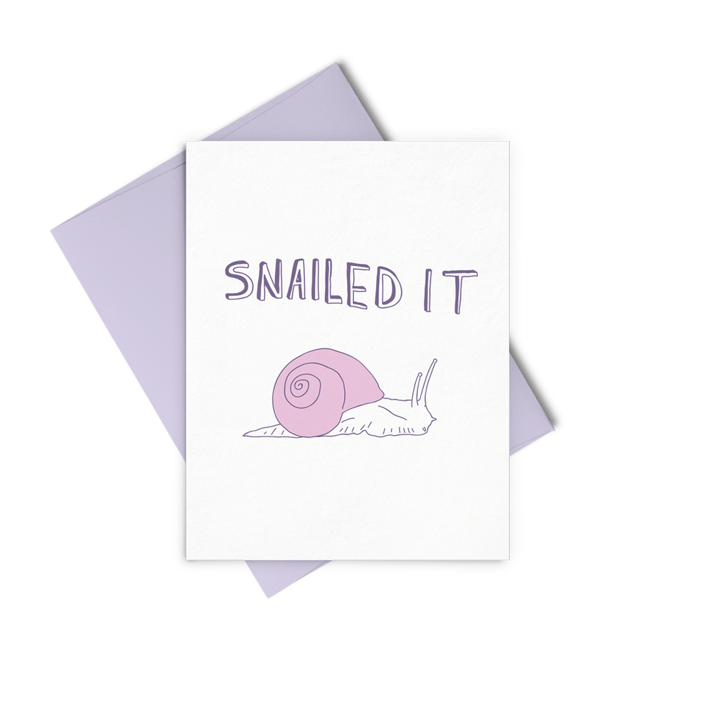 Snailed It - Talking Out Of Turn - [product_description]