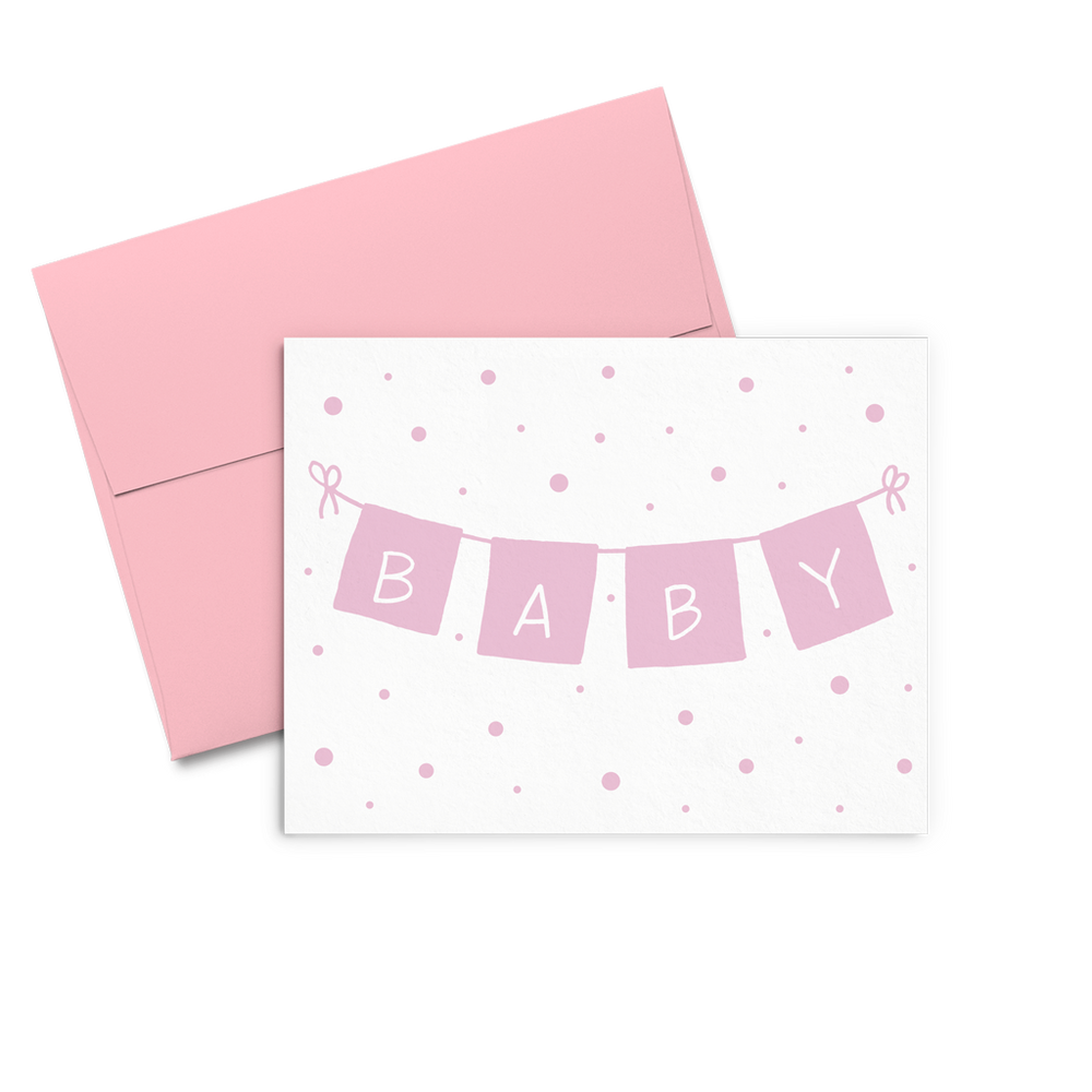 Baby Girl Banner - Talking Out Of Turn - [product_description]