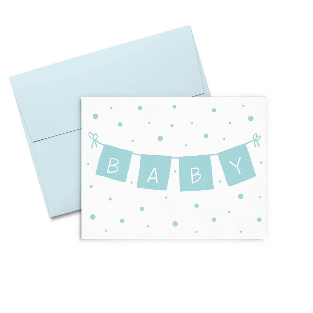 Baby Boy Banner - Talking Out Of Turn - [product_description]