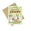 Making Spirits Bright is a cute holiday greeting card featuring your favorite tradition, holiday cocktails!