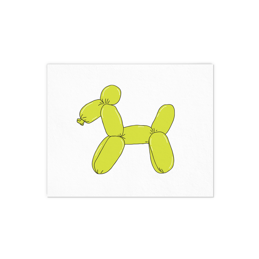 Balloon Dog - Talking Out Of Turn - [product_description]