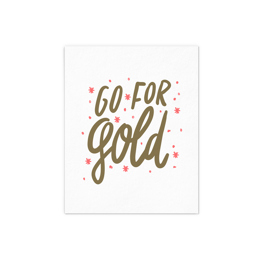Go For Gold - Talking Out Of Turn - [product_description]