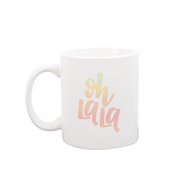 Oh La La White Mug - Talking Out Of Turn