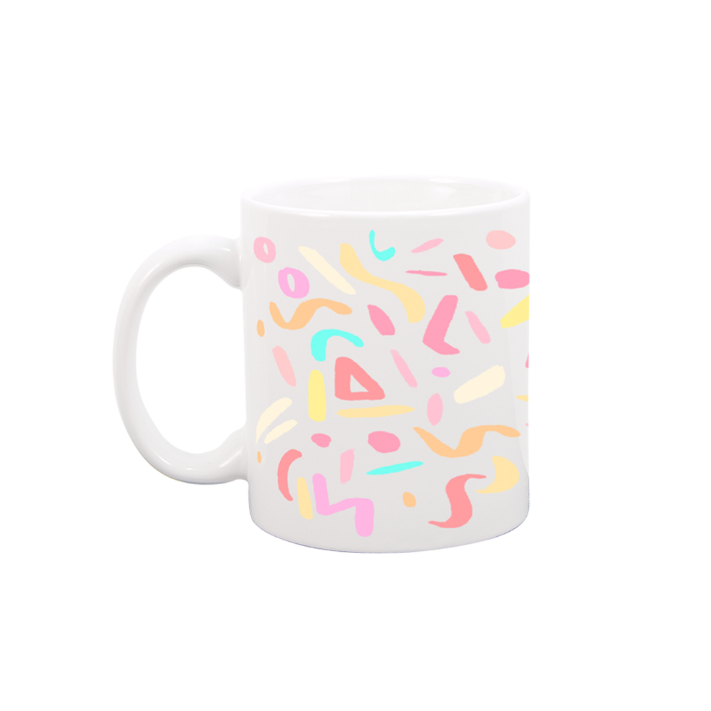 Party Animal White Mug - Talking Out Of Turn - [product_description]