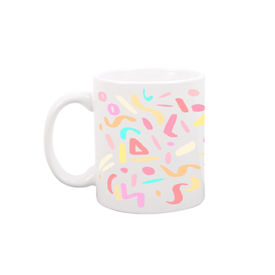 Party Animal White Mug - Talking Out Of Turn