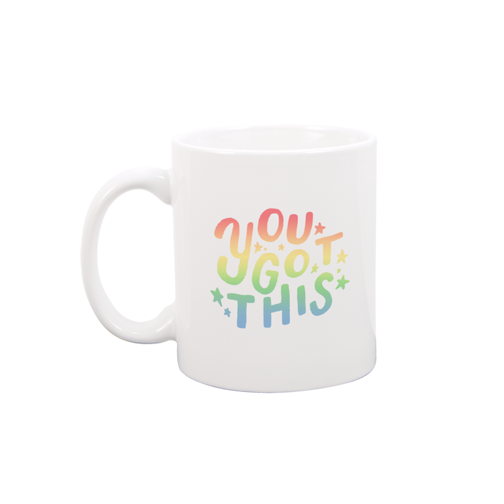 You Got This White Mug - Talking Out Of Turn - [product_description]