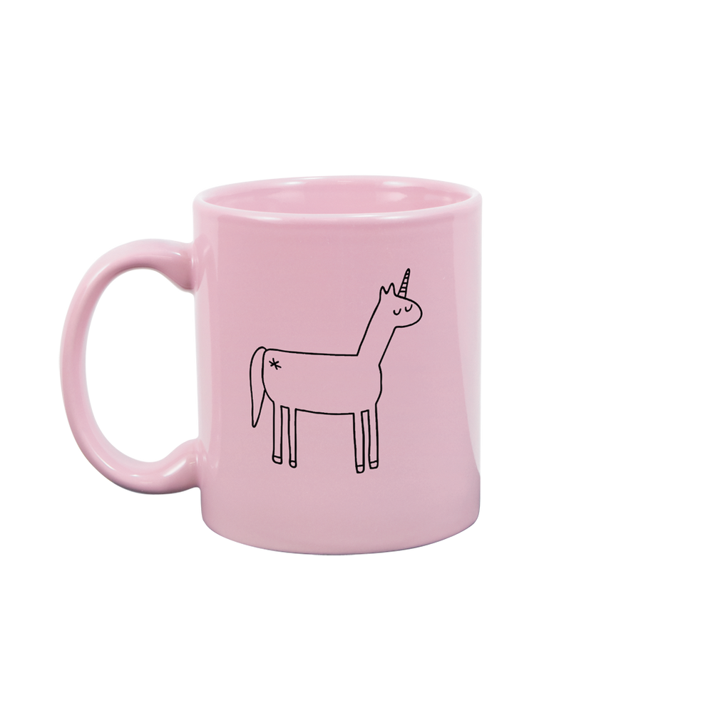 Unicorn Blush Pink Mug - Talking Out Of Turn - [product_description]