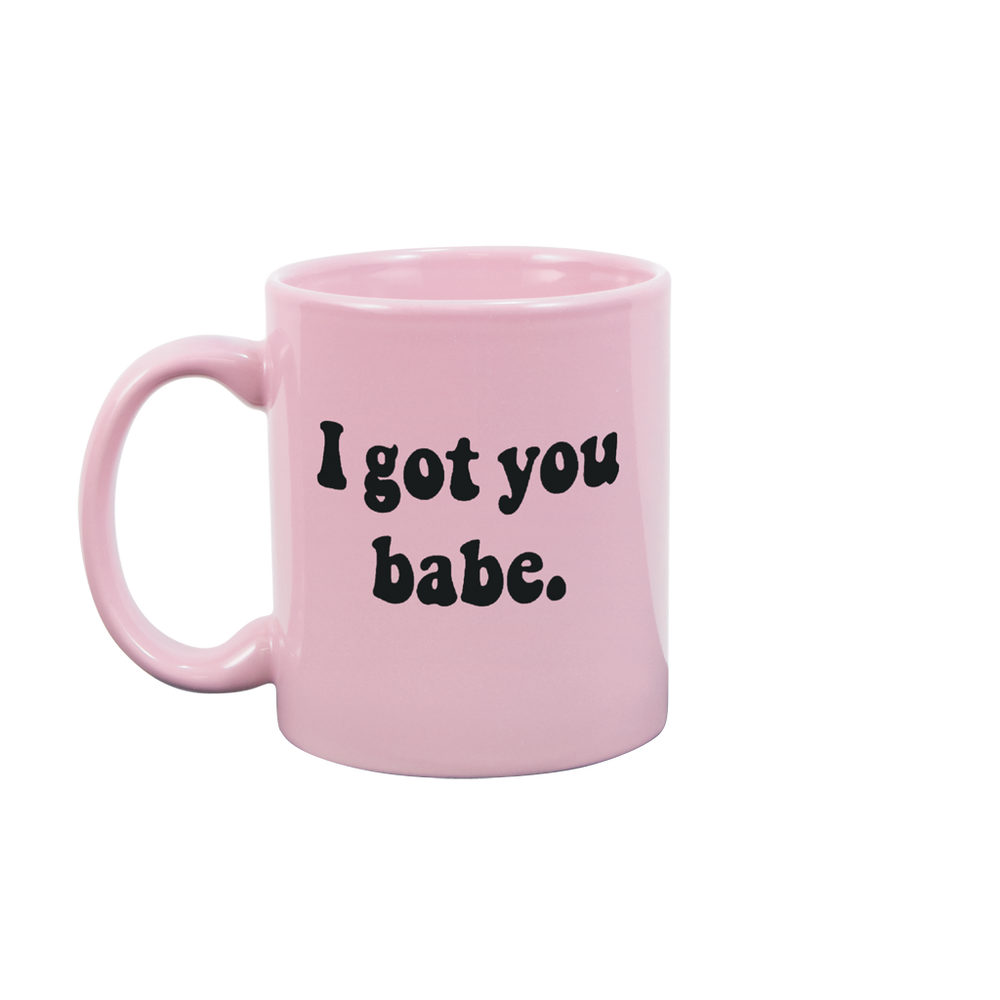 I Got You Babe Blush Pink Mug - Talking Out Of Turn - [product_description]