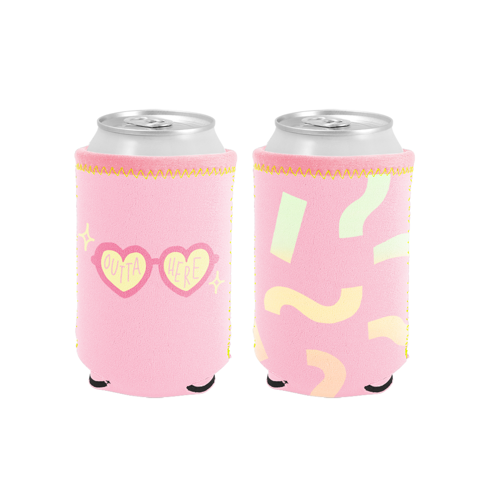 Outta Here Reversible Can Holder - Talking Out Of Turn - [product_description]