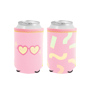 Outta Here Reversible Can Cooler - Talking Out Of Turn