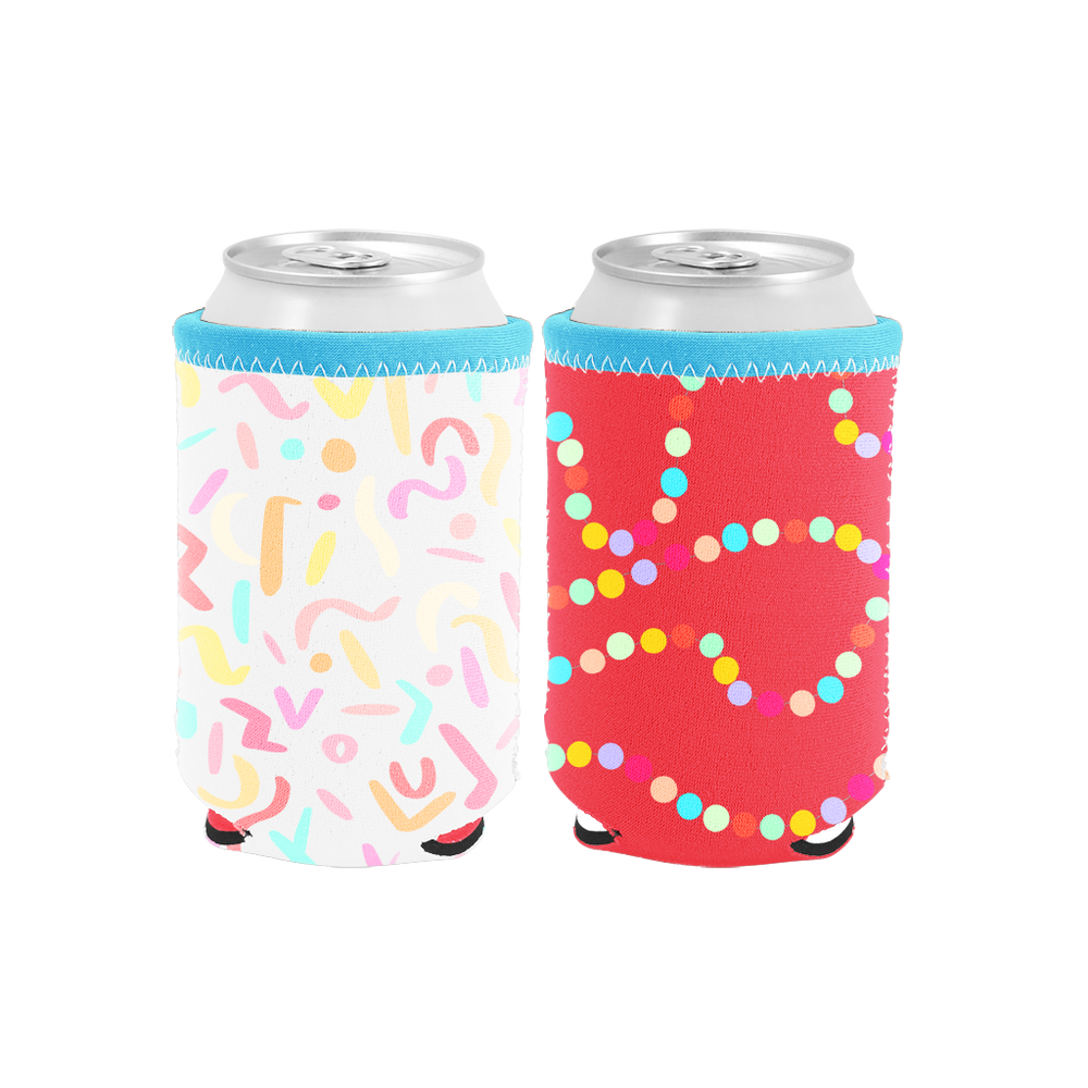 Sugar Rush Reversible Can Holder - Talking Out Of Turn - [product_description]