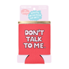 Let's Make Out Reversible Can Cooler comes packaged in a pink cardboard sleeve.