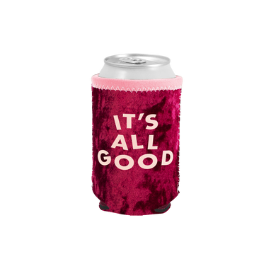 It's All Good Velvet Can Cooler - Talking Out Of Turn