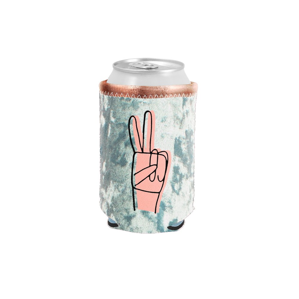 Peace Velvet Can Holder - Talking Out Of Turn - [product_description]