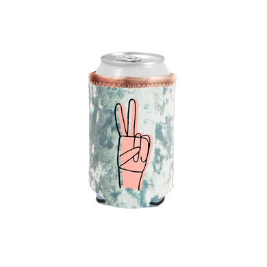 Peace Velvet Can Cooler - Talking Out Of Turn