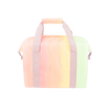 Daybreak Miss Chill is a soft sided cooler bag in a pastel rainbow print with durable nylon straps.