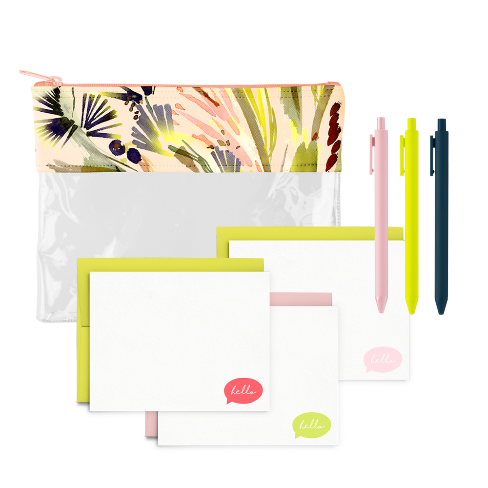 Tropics Stationery Kit