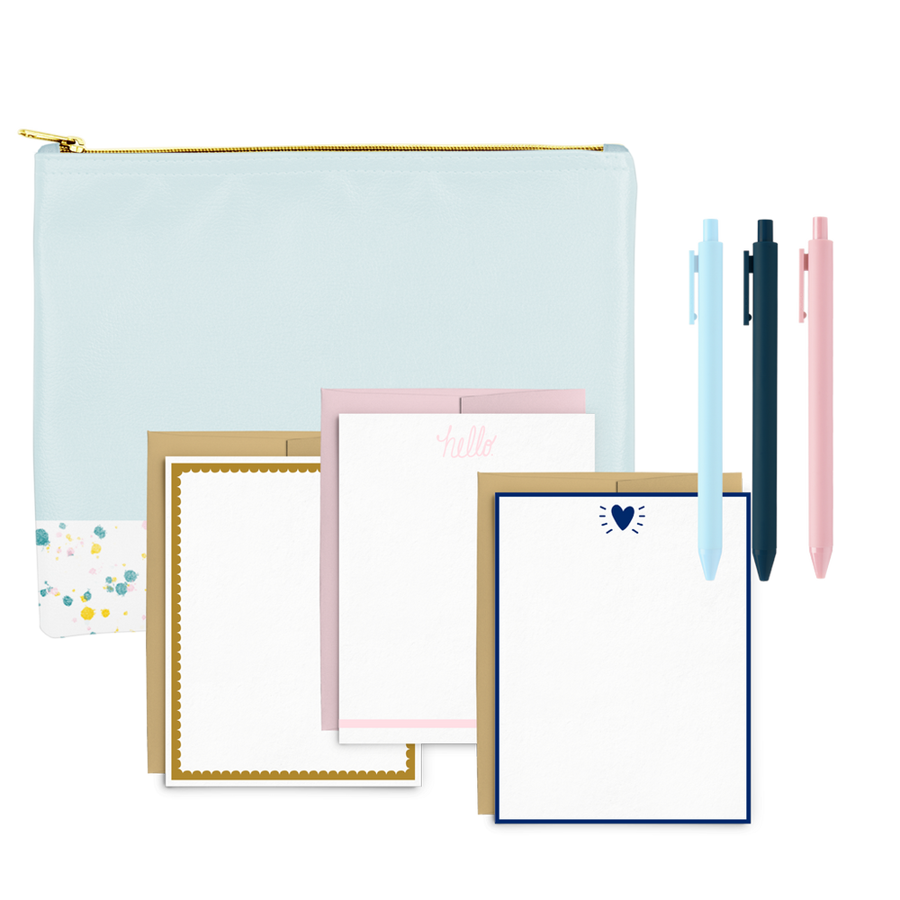 Splatter Stationery Kit