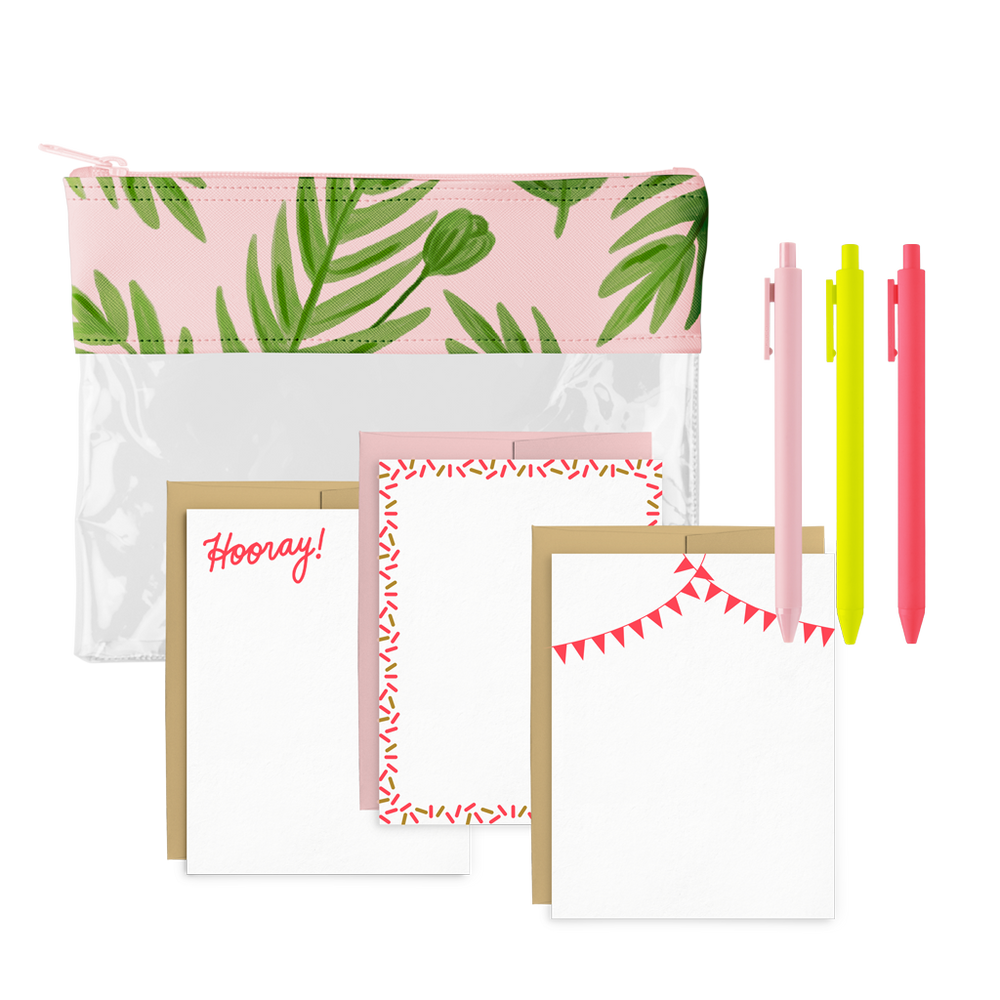 Poppies Please Social Stationery Kit