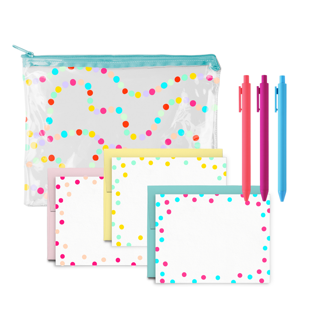 Ice Cream Social Stationery Kit