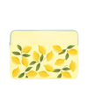 Squeeze the Day Laptop Sleeve is a cute laptop case in yellow with lemons pattern in 13 inch size.
