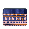 Boho Dress Laptop Sleeve is a cute laptop case in patterned navy and 15 inch size.