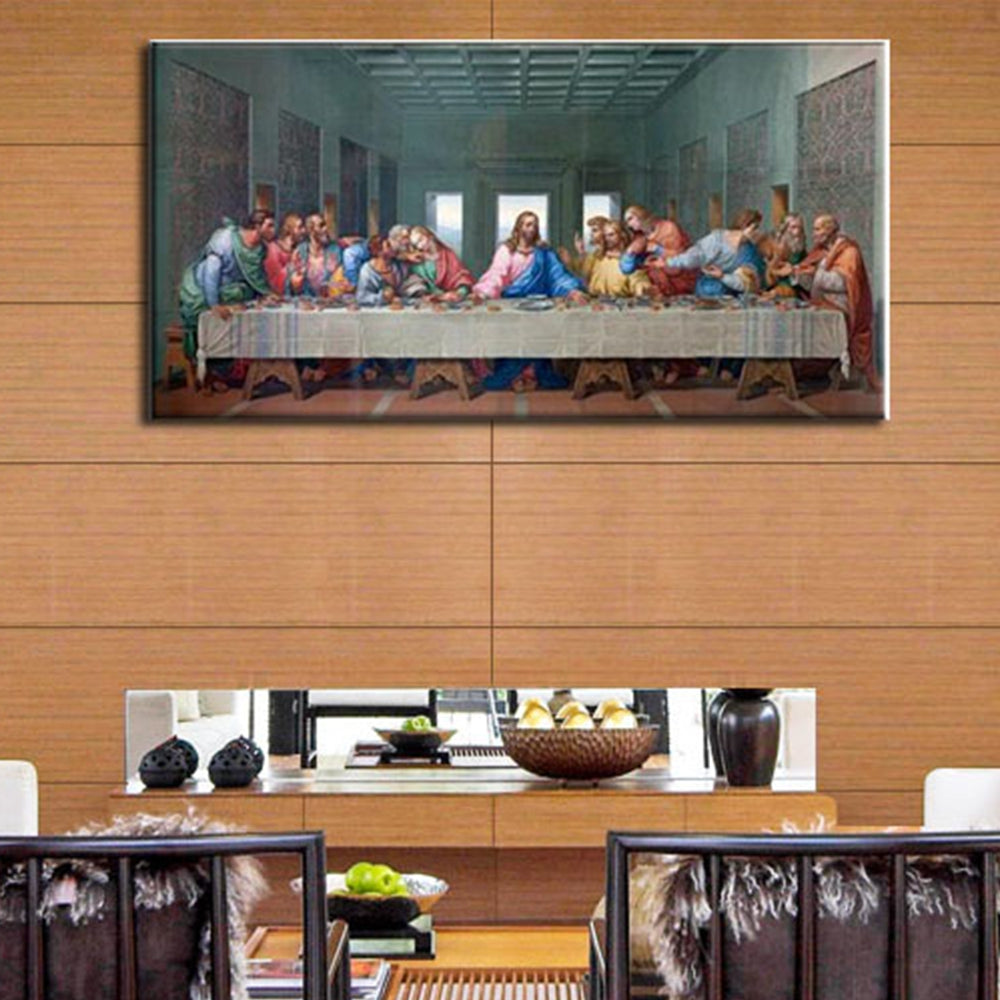 & Last Supper Wall Art Canvas Painting Print Picture Wall Decor ...