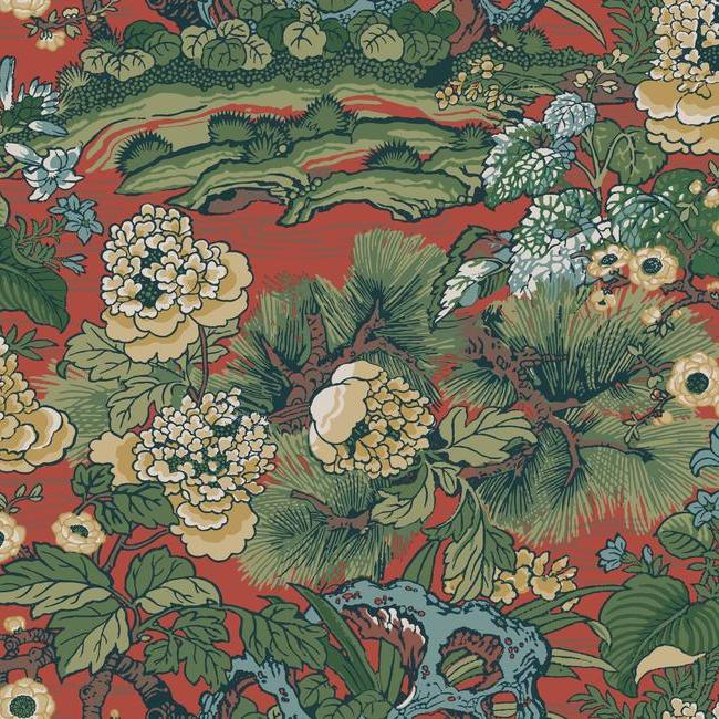 York Wallpaper CY1541 Dynasty Floral Branch