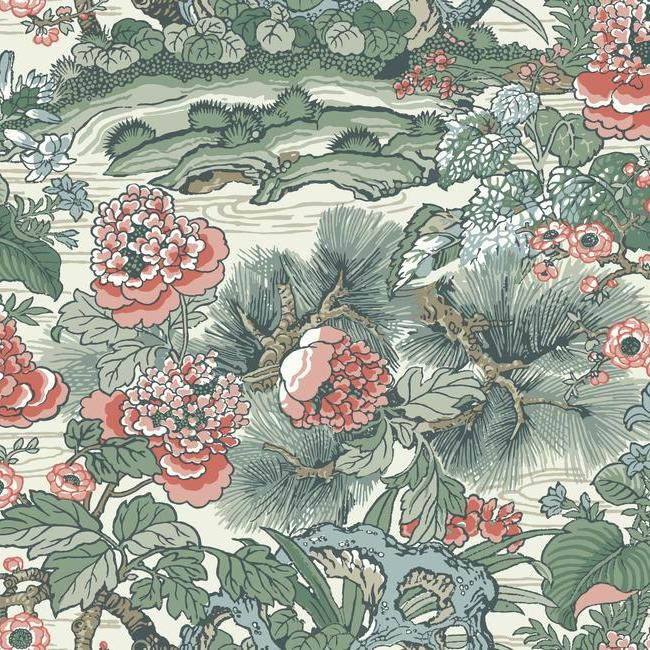 York Wallpaper CY1542 Dynasty Floral Branch